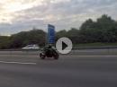Kawasaki Ninja H2 Flyby Autobahn