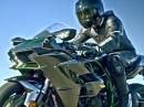 Kawasaki Ninja H2 Street - 200 PS, 238kg = 25.500, Euro