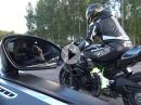 Kawasaki Ninja H2 vs. Bugatti Veyron 16.4 - Oben raus wirds eng