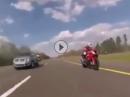 Kawasaki Ninja H2 vs. S1000RR - und alles wird schlagartig klein ...
