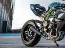 Kawasaki Ninja H2R - Der Sound ist schon extrem porno - yessssss