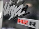 Kampfjet: Kawasaki Ninja H2R - Details und Motor | Intermot 2014