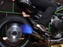 Kawasaki Ninja H2R durchgeladen! Dynorun Bääm