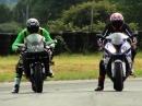 Kawasaki Ninja H2R vs. BMW S1000 RR | Moto Journal Go!
