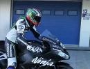 Kawasaki Ninja ZX-10R SBK Team 2013 - Teamvorstellung Baz, Sykes