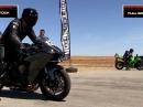 Kawasaki Ninja ZX10R vs Ninja H2 - Eindeutig geht anders