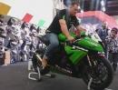 Kawasaki Ninja ZX10R Ninja (2013) Akrapovic auf der HMT