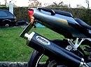 Kawasaki Ninja ZX6R mit Hurric RAC 1 mit db-Killer