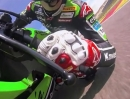 Kawasaki SBK-WM Team Tom Sykes, Loris Baz Test Aragon