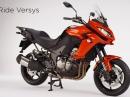 Kawasaki Versys 1000 MY15 - überarbeitetes Design