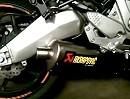 Kawasaki Versys 2010 mit Akrapovic Slip-On ohne DB-Killer