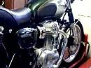 Kawasaki W 800 auf dem Prüfstand