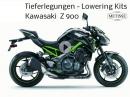 Kawasaki Z 900 bis zu 60 mm tieferlegen - von Team Metisse