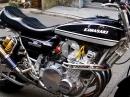 Kawasaki Z1 900 - bildschön aufgebaut