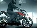 Kawasaki Z1000 2010 Promotionvideo und Vorstellung der Detaillösungen