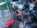 Kawasaki Z1000 A1 Block läuft ohne alles - Testlauf