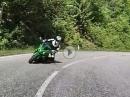 Kawasaki Z1000SX Z750 2018 - Spaß und Speed mit dem Bro