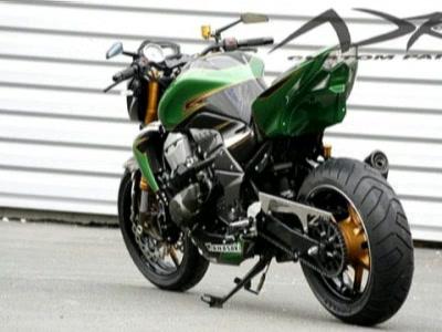 Motorradumbau Kawasaki Z750 Bildschoner Umbau Von AD Konzept