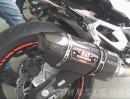 Kawasaki Z800 Modell 2013 mit Yoshimura Auspuffanlage
