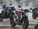 Kawasaki Z800 vs Triumph Street Triple, Suzuki GSR750, Yamaha FZ8, MV Agusta Brutale 675