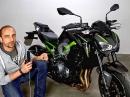 Kawasaki Z900 Performance Test von Asphalt Süchtig