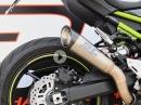 Kawasaki Z900 mit SC-Project S1 Auspuffanlage - Soundcheck