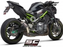Kawasaki Z900 mit SC-Project Street Legal CR-T Auspuffanlage