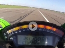 Kawasaki ZX-10R (2016) 304 km/h - Top Speed Test via MCN