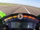 Kawasaki ZX-10R (2016) 304 km/h - Top Speed Test via MCN