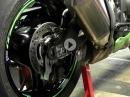 Bremshalter Kawasaki ZX 10R 2016 Bremssattel hinten original unten | Schnellwechsel | Leonhardt