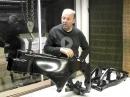 Kawasaki ZX10R 2016 KTL-Beschichtung Rahmen, Schwinge | PS-Treff | Leonhardt