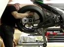 Kawasaki ZX 10R 2016 Radwechsel hinten schnell und entspannt | Leonhardt Rennsport