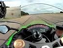 Kawasaki ZX-10R (304 km/h) Vollgas Motorradtest via MCN