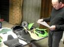 Kawasaki ZX 10R Rennverkleidung Vergleich Serie vs Avio vs Carbon | Carbonin fairing | PS-Treff