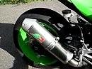 Kawasaki ZX-10R - Umbau Auspuffanlage und Superbike-Lenker