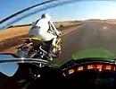Kawasaki ZX-10 vs BMW S1000RR Durchzug / Beschleunigung