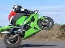 Kawasaki ZX-6R Moto Xtreme Bike Stunt