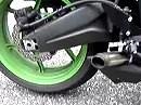 Kawasaki ZX-6R MotoGP style motowerkz exhaust