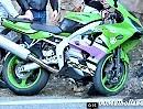 Kawasaki ZX-6R verstorben an der Snake, ein treuer Freund - Fahrer ok
