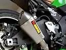 Kawasaki ZX10-R 2012 mit Akrapovic Screamer Auspuffanlage