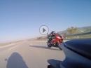 "Kawasaki ZX10R vs BMW S1000RR - ""Bayern"" schwächelt ;-)"