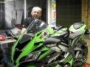 Kawasaki ZX10R | Wie viel Serie steckt noch in der Superbike | Serie vs SBK | PS-Treff | Leonhardt
