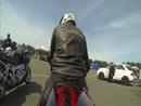 Kawasaki ZX12R auf Padborg Park