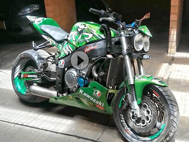 Kawasaki Zx7 Streetfighter Umbau Great Job