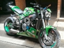 Kawasaki ZX7 Streetfighter Umbau - Great Job