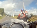 "Kells Road Racing one Lap Andy Farrell - 600ccm artgerecht ""gequält"""