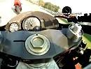 Kenny Roberts onboard Imola bei 200MIGLIA IMOLA Yamaha 500ccm