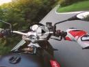 Kesselt: Aprilia Tuono V4R offene Bodis. Geiler Sound, geil gefahren by Etepetete Motorsport