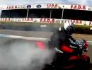 Kevin Carmichael Drift mit Trumph Speed Triple - kurz und schmerzlos