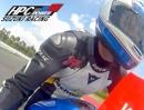 Kevin Schwantz (#34) onboard Rollei 5S vs.HPC Power Suzuki GSX-R 1000 onboard Hockenheim mit Interview